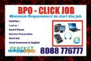 Home based BPO Click Job Payout for each click Rs.