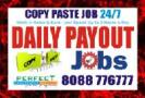 Copy paste Work Daily Payment | Survey job Data En